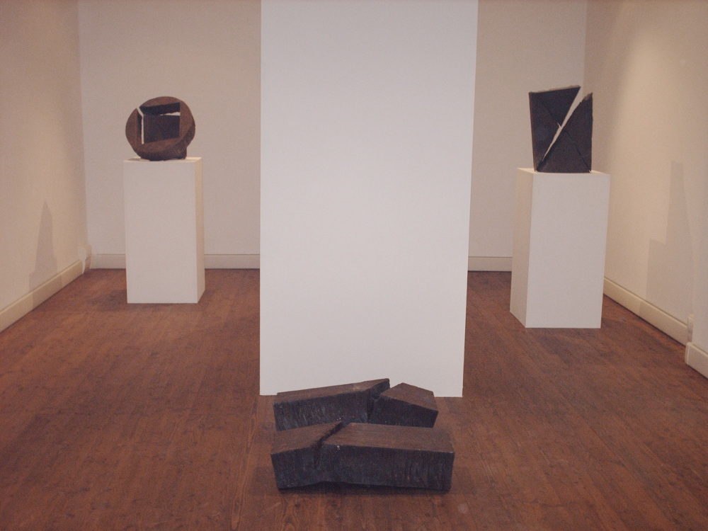 o.Giuseppe Spagnulo, Cantico at Il Ponte gallery, Florence