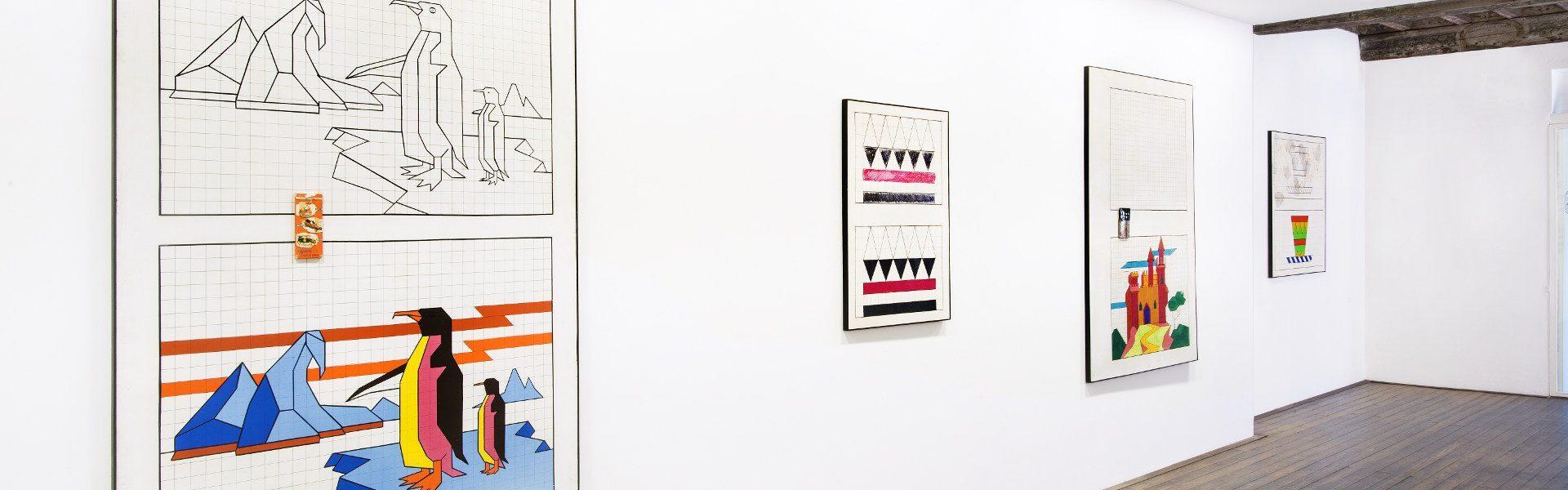 Aldo Mondino, galleria Il Ponte, Firenze_2
