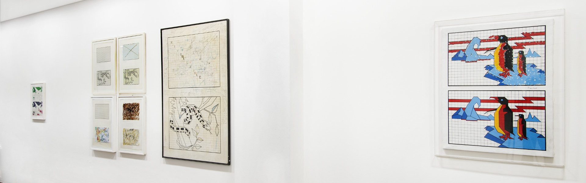 Aldo Mondino, galleria Il Ponte, Firenze_3