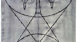 Fisionomia imbutata, 1992, china on paper cm 114,5x75,7