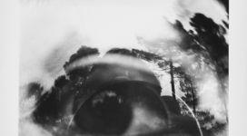 Occhio nel paesaggio, immagine oggettiva-riflessa (l'estremo limite della Visione), 1965, silver salt print on baryta paper, 40.5x50.5 cm