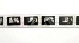 Gesti sul Piano, 1975, black and white photographs cm 12x17,4 each