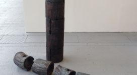 Giuseppe Spagnulo, Baalbek, 2005, steel 115x30 e 20x115 cm