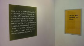 L'arte è una parola, galleria Il Ponte, Firenze